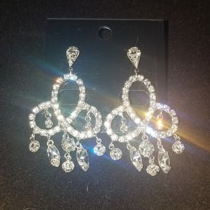 Crystal fancy earrings